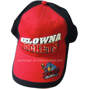 Cotton Rocket Sports Cap with Custom Woven Labels pictures & photos