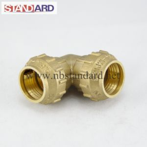 Brass PE Fitting with Equal Coupling pictures & photos