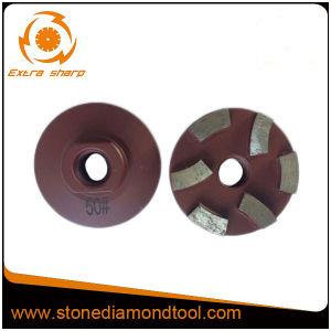 60mm M14 Thread Diamond Segment Concrete Grinding Disc pictures & photos