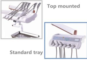 High Quality Ce Approved Dental Unit with LED Sensor Light Lamp pictures & photos