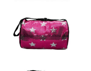 Fancy Star Pattern Sequin Rolling Dance Bag for Girls pictures & photos