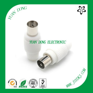 CATV Coaxial Flylead PAL 9.5mm Male Plug Connector pictures & photos