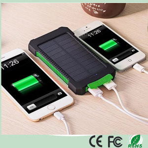 Waterproof 10000mAh Dual-USB Solar Charger Power Bank for Laptop (SC-5688) pictures & photos