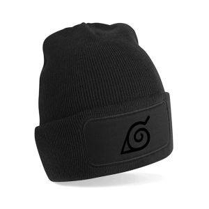 Baggy Beanie with Leather Patch pictures & photos
