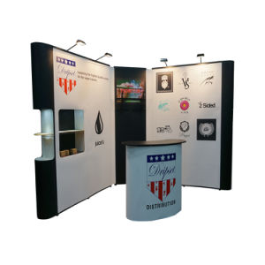 Tension Fabric Pop up PVC Pop up Trade Show Booth Stand pictures & photos
