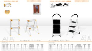Household Ladder and Round Tube Step Ladder pictures & photos