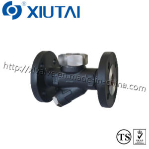 Cast Steel Flanged Thermodynamic Steam Valve pictures & photos