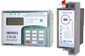 DIN Rail Mounting Keypad Split Energy Meter (2-wires communication) pictures & photos