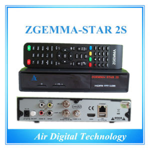 Zgemma-Star 2s with Twin Tuner DVB-S2 MPEG4 HD Receiver pictures & photos
