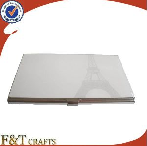 High Quality Printing Logo Metal Business Card Case pictures & photos