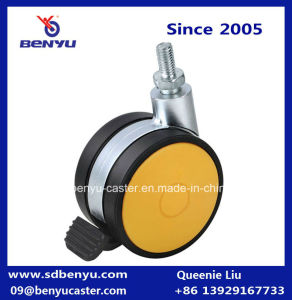 Plastic Lockable Chair Roller Wheel Roller pictures & photos