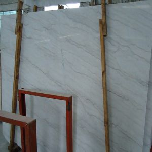 Chinese Guangxi White Marble Slab & Floor Tile for Building Decoration pictures & photos