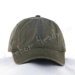 Custom Heavy Washed Plain Baseball Cap pictures & photos