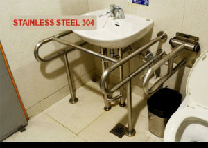 Stainless Steel 304 Wash-Basin Grab Bar pictures & photos
