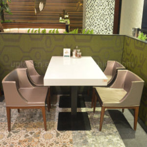 Modern Commercial Cafeteria Cafe Furniture Restautrant Table Chair (SP-CS310) pictures & photos