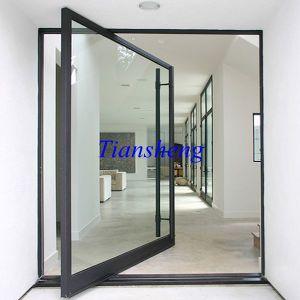 Customized Aluminium Center Pivot Door pictures & photos