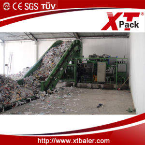 Horizontal Automatic Baler Press for Cardboard and Paper