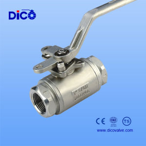 3000wog CF8/CF8m 2PC Ball Valve pictures & photos