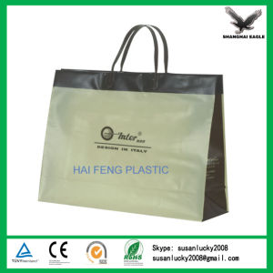 Soft Loop Handle Plastic Packing Polybag pictures & photos