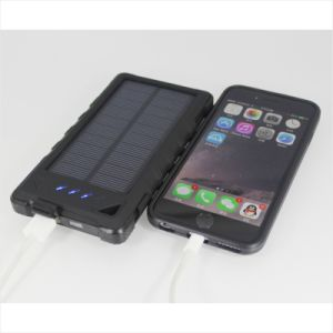 Universal 5V 2A 1USB 8000mAh Portable Battery Solar Charger with Good Feel pictures & photos