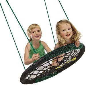 Carries Detachable Foldable Nest Swing Outdoor Children Net Round Swing