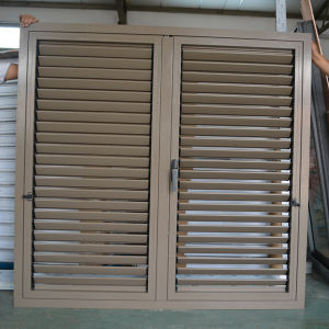 High Quality Powder Coated Aluminum Profile Casement Window & Casement Shutter K03059 pictures & photos
