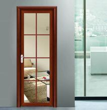 Elegant Smooth Surface Touch Aluminium Doors pictures & photos