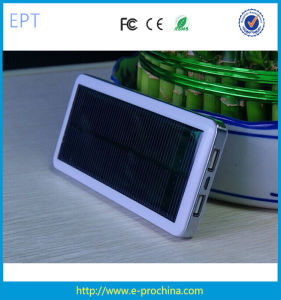 High Quality Solar Power Bank Mobile Charger 10500mAh (EP054) pictures & photos