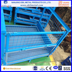 Hot Popular Steel Q235 Fold Wire Container pictures & photos