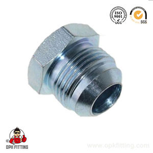 Jic Male Hydraulic Plug Hydraulic Nipple Adapter (4J) pictures & photos