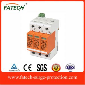 China 220V 60KA B+C Three Phase Surge Protector Device with Signal pictures & photos