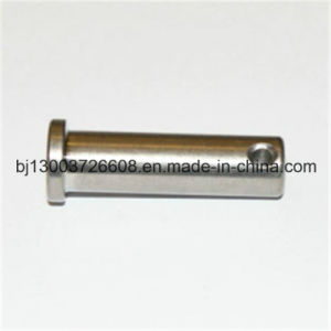 CNC Precision Custom Machining Pin with Hole Stainless Steel