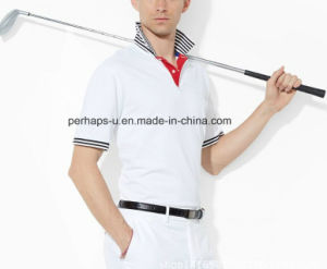 Gentle Mens Golf Polo Shirt pictures & photos