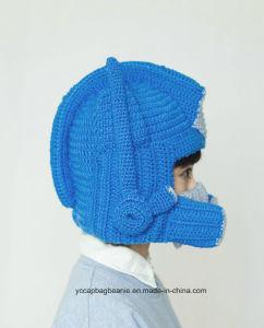 Handmade 100% Cotton Crochet Beard Hat pictures & photos