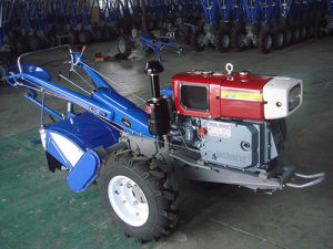 Waling Tractor with Rotary Tiller