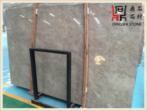 China Natural Marble Grey Color High Quality Building Material Asher Blue Grey Marble Slabs pictures & photos