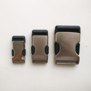 Insert Style Slide Buckle for High-End Bag and Luggages pictures & photos