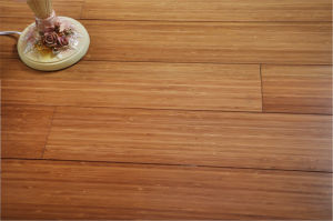 Carbonized Vertical Bamboo Flooring UV Lacquer Smooth pictures & photos