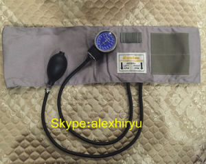 Classic Aneroid Bp, Blood Pressure Gauge, Nylon Cuff pictures & photos