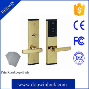 New Products Douwin Hotel Card Reader Door Lock pictures & photos