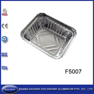 Widely Used Square Aluminum Foil Box Container for Restaurant pictures & photos
