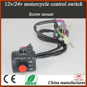 Police Waterproof Motorcycle Push Button Control Switch (MK-01) pictures & photos