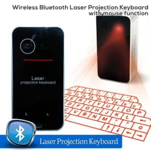 New Mini Wireless Bluetooth Laser Keyboard with Mouse Funcation pictures & photos