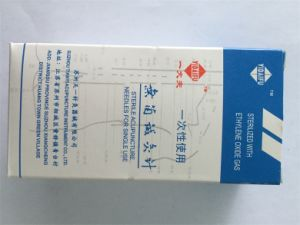 Disposable Needle Package Individual Without Guide Tube pictures & photos