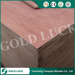 Mahogany Red Wood Faced Commercial Plywood pictures & photos