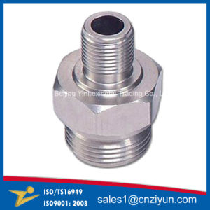 Customized Metal CNC Lathe Machined Parts pictures & photos