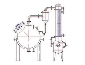 Stainless Steel Roundness Vacuum Concentrating Equipment Without Agitator pictures & photos