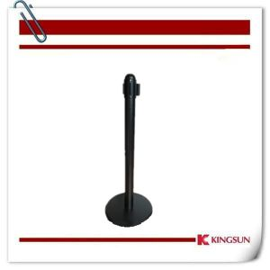Hotel &Airport &Road Use Ball Top Cement Dome Base Retractable Belt Stanchions pictures & photos