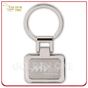 Factory Wholesale Custom Etched Logo Metal Key Ring pictures & photos