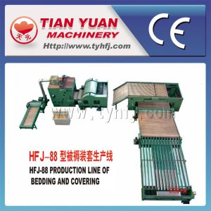 Quilt Bedding Covering Nonwoven Machinery Production Line (HFJ-88) pictures & photos